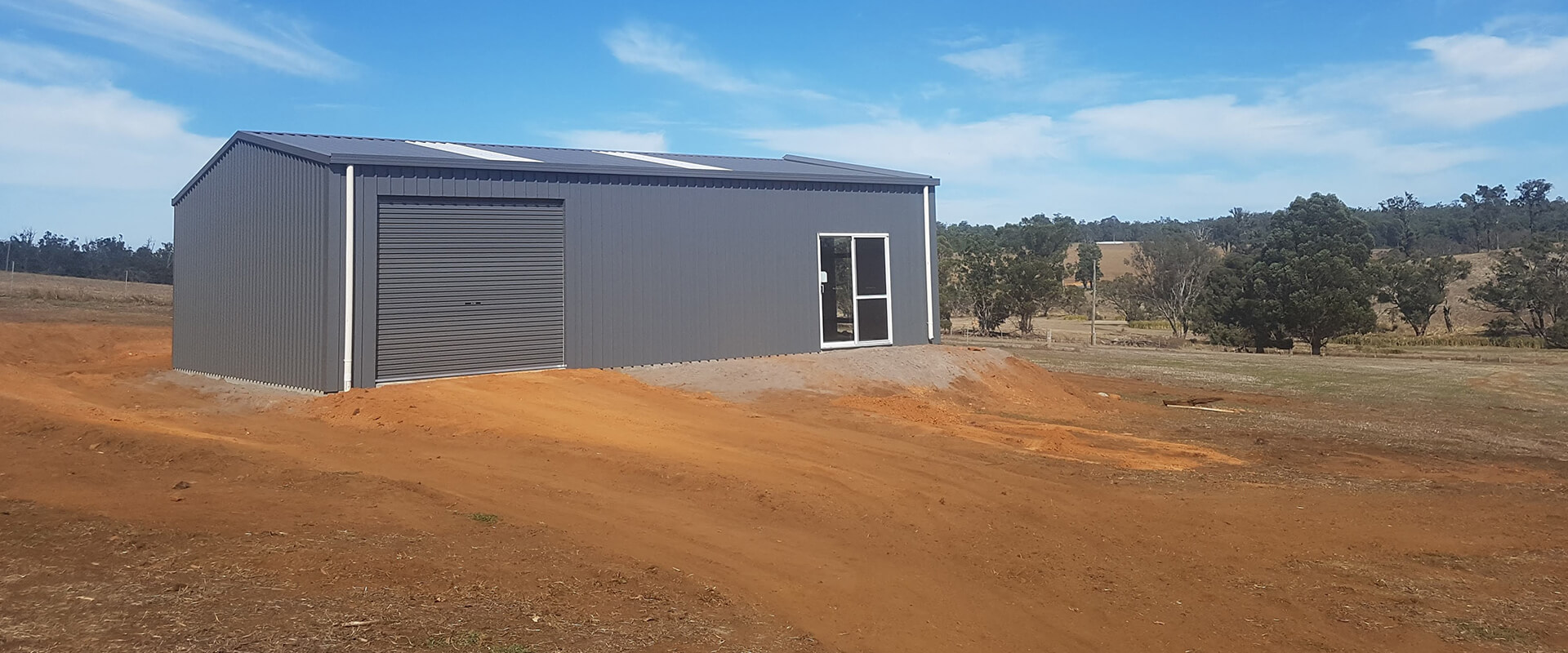 12 x 9 x 3.2m Enclosed Shed