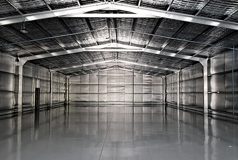 31 x 15 x 4.4m Enclosed Prestige car workshop with wash bay
