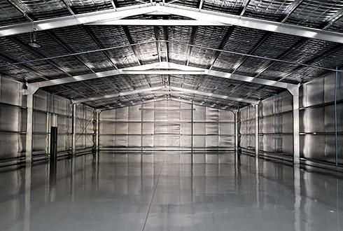 31 x 15 x 4.4m Enclosed Prestige car workshop with wash bay