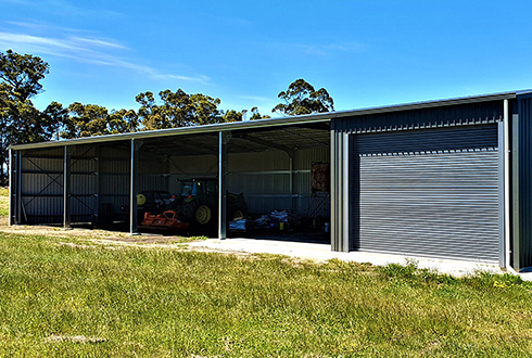 30 x 10 x 4.2 Farm Machinery Shed & Workshop